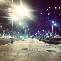 Photo taken at Av. Paseo de la Reforma by Angel I. on 10/21/2013