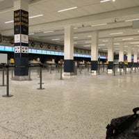 Photo taken at Manchester International Airport (MAN) by David U. on 5/3/2016