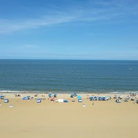Photo taken at Holiday Inn Express & Suites Va Beach Oceanfront by Gypsy G. on 6/26/2014