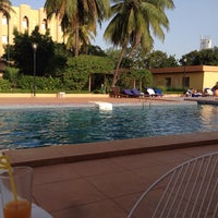 Photo taken at Azalai Hotel Independance Ouagadougou by Olya P. on 10/14/2013