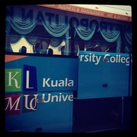 Photo taken at Kuala Lumpur Metropolitan University College (KLMU) by shafa s. on 12/13/2013