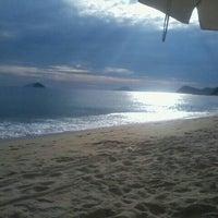 Photo taken at Praia de Boiçucanga by No C. on 2/17/2013