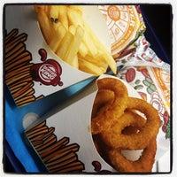 Photo taken at Burger King by DjFolly O. on 10/26/2012