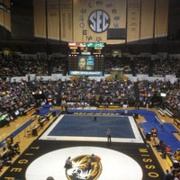 Photo taken at Hearnes Center by Aaron E. on 2/2/2013
