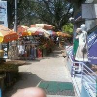 Photo taken at Gandhi Bazaar by Venkatesh A. on 1/21/2013