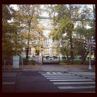 Photo taken at Гимназия № 631 by Zhenya on 10/6/2012