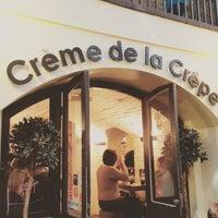 Photo taken at Crème de la Crêpe by Jonathan C. on 12/12/2015