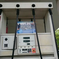 Photo taken at Shell by クリスティン c. on 4/25/2015