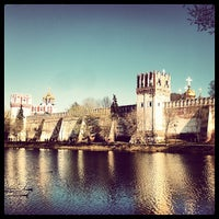 Photo taken at Novodevichy Convent by Georgy on 5/2/2013