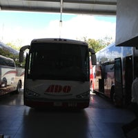 Photo taken at Terminal de Autobuses ADO by Alberto A. on 3/5/2013