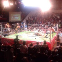 Photo taken at Arena Adolfo Lopez Mateos by Eduardo R. on 12/22/2013
