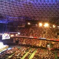 Photo taken at Movistar Arena by Kamila O. on 6/3/2013