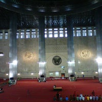 Photo taken at Masjid Istiqlal by Teguh C. on 12/26/2013