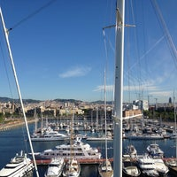 Photo taken at OneOcean Port Vell Barcelona by Regina S. on 6/15/2013
