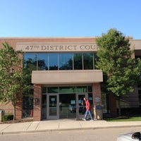 Photo taken at 47th District Court by Brian J. P. on 4/25/2014