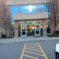 Photo taken at 47th District Court by Brian J. P. on 12/5/2012