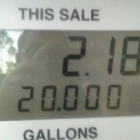 Photo taken at Shell by Adam S. on 11/15/2012