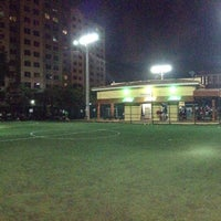 Photo taken at Downtown Soccer by Juan P. on 4/19/2014