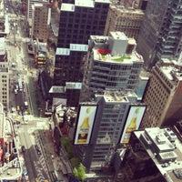 Photo taken at W New York - Times Square by Aliya K. on 5/13/2013