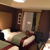 Photo taken at Hotel Monterey Akasaka by Laura D. on 4/15/2013