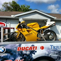 Photo taken at Euro Cycles Of Tampa Bay by akaCarioca on 2/23/2013