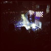 Photo taken at Crown Coliseum by Fidel J. on 2/8/2013
