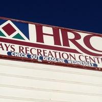 Photo taken at Hays Recreational Center by Johnie J. on 1/19/2013