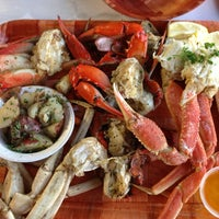 Photo taken at Rustic Inn Seafood Crabhouse by Lory L. on 1/4/2013