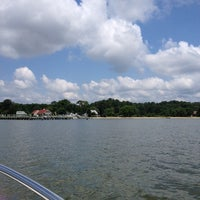 Photo taken at St. Clements Island State Park by Kate H. on 7/11/2014