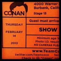 Photo taken at Warner Bros Stage 15 by Tim M. on 2/14/2013