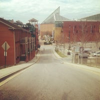 Photo taken at Bluff View Art District by Jamie C. on 3/9/2013
