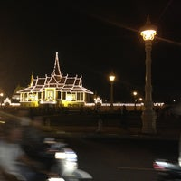 Photo taken at Royal Palace, Phnom Penh by Алина Г. on 1/6/2013