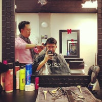 Photo taken at Andre's Hair Design by Franco P. on 12/1/2012