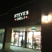 Photo taken at Steve's Deli by Scott B. on 1/22/2013