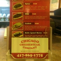 Photo taken at Chicago Cheesesteak Company by what white elephant on 8/9/2014