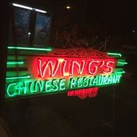 Photo taken at Wing's Chinese Restaurant by Mike B. on 12/25/2016