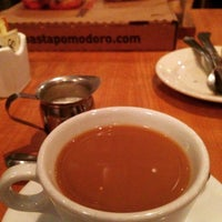 Photo taken at Pasta Pomodoro by Romeo Q. on 2/1/2015