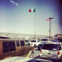 Photo taken at Puente Internacional Santa Fe (Paso Del Norte) by Athenea D. on 5/2/2013