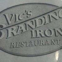 Photo taken at Vic's Branding Iron by Sarah L. on 9/18/2012
