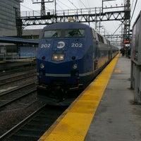 Photo taken at Bridgeport Train Station (BRP) - Metro North & Amtrak by Heather C. on 1/12/2013