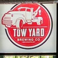 Drinking Local No Nonsense Beer at Tow Yard Brewing Company