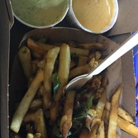 Photo taken at Box Frites by Valerie C. on 9/21/2015