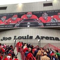 Photo taken at Joe Louis Arena by Fadi E. on 5/24/2013