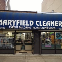 Photo taken at Maryfield Cleaners by Jeffrey M. on 10/3/2012