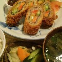 Photo taken at キッチン米一 by tetra p. on 12/17/2014