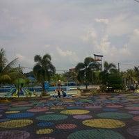 Photo taken at Hairos Indah Waterpark by j n. on 5/5/2014