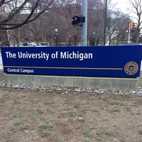 Photo taken at University of Michigan by Goos on 2/15/2013
