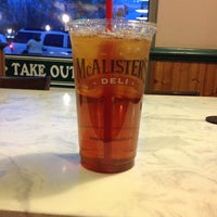 Photo taken at McAlister's Deli by Paul B. on 4/5/2014