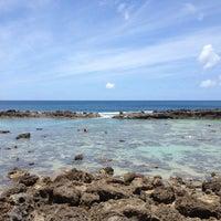 Photo taken at Pupukea Beach Park by OahuAJ on 5/24/2013