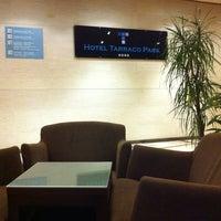 Photo taken at Hotel Tarraco Park Tarragona by Ercan O. on 11/15/2012